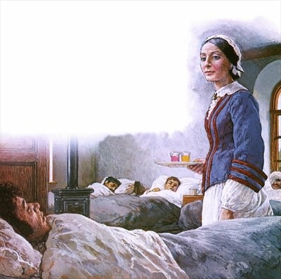 Florence Nightingale Poster Art Print by Clive Uptton