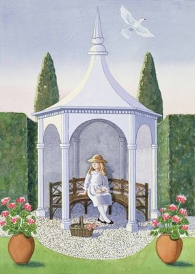 Summer House by Lavinia Hamer - print