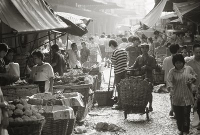 Fine Art Print of Market by Anonymous