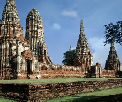 Fine Art Print of Wat Chaiwatthanaram by Anonymous