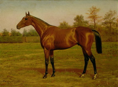 Isinglass, Triple Crown, 1893 Poster Art Print by Harrington Bird