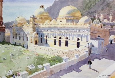 Mosque, Taiz, Yemen, 1990 Poster Art Print by Lucy Willis
