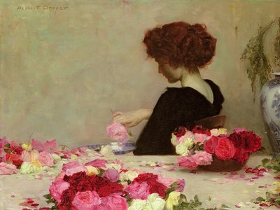 Fine Art Print of Pot Pourri, 1897 by Herbert James Draper