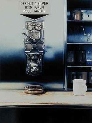 The Last Automat I, 1983 Poster Art Print by Max Ferguson