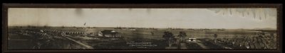 Atlantic Fleet & Deerpoint Camp Jan 1912, US Naval Station Guantanamo Bay, Cuba Poster Art Print by Cuban Photographer