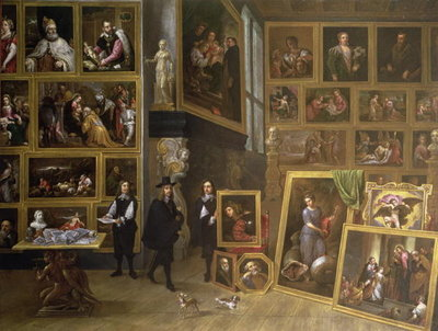 The Picture Gallery of Archduke Leopold Wilhelm Poster Art Print by David the Younger Teniers