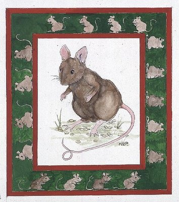 Mice by Miranda Legard - print