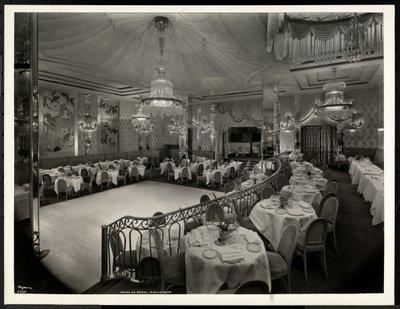 Fine Art Print of The Iridium Room at the Hotel St. Regis, 1937 by Byron Company