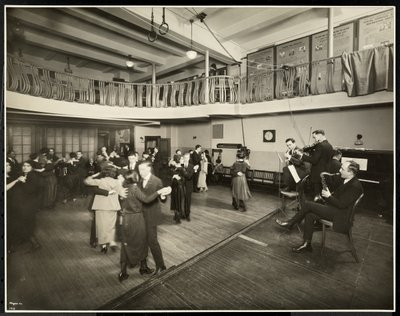 Fine Art Print of Monthly dance at the New York Association for the Blind, 111 East 59th Street, New York, 1926 by Byron Company