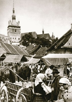 Fine Art Print of Sunday Fair by Anonymous