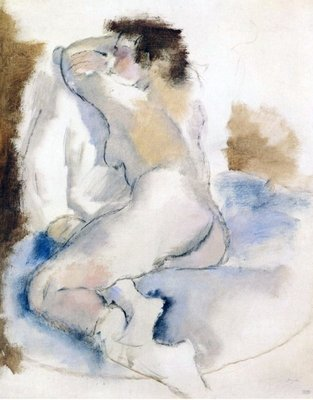 Fine Art Print of Germaine, 1929 by Jules Pascin