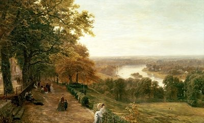 Fine Art Print of Richmond Hill, London by George Vicat Cole