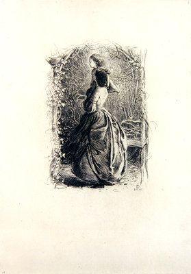 Fine Art Print of Happy Springtime by Sir John Everett Millais