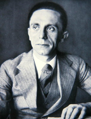 Portrait of Josef Goebbels, 1933 Poster Art Print by German Photographer