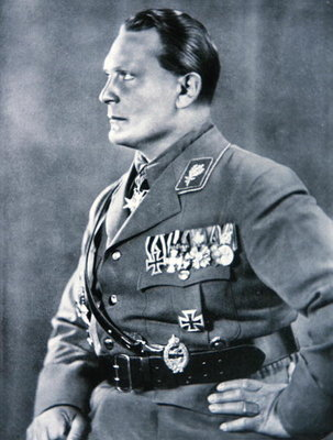 Hermann Goering, Chief of the German Luftwaffe Poster Art Print by German Photographer