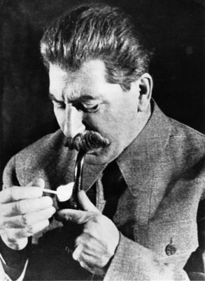Joseph Stalin Poster Art Print by Russian Photographer
