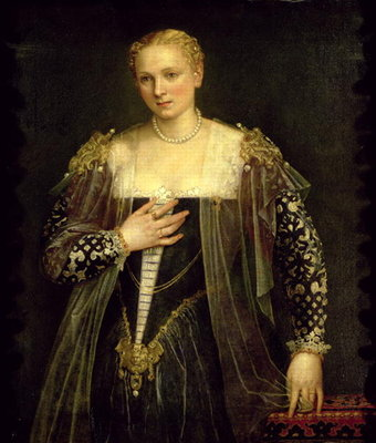 Fine Art Print of The Beautiful Nani by Veronese