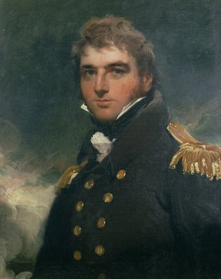 Fine Art Print of Portrait of Admiral Sir Charles Paget by Sir Thomas Lawrence