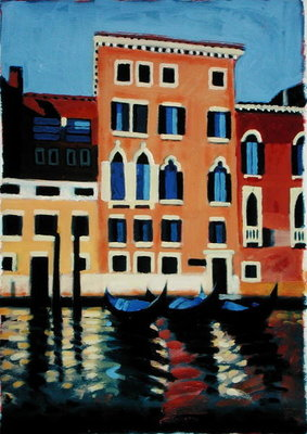 Fine Art Print of Canal Grande II by Sara Hayward