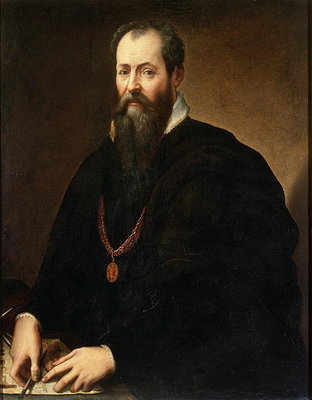 Fine Art Print of Self Portrait, 1566-68 by Giorgio Vasari
