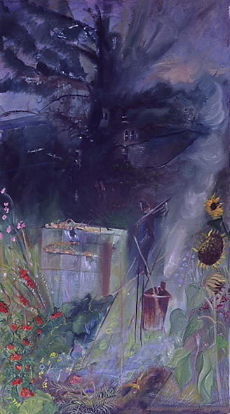Fine Art Print of Allotment, 2000 by Sophia Elliott
