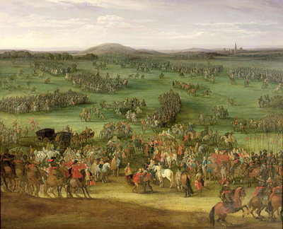 The Battle of Nordlingen II, c.1634 Poster Art Print by Pieter Meulener