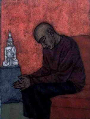 Fine Art Print of Contemplation by Shanti Panchal