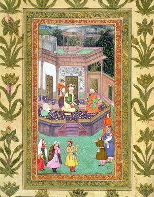 The Qazi, from the Small Clive Album Poster Art Print by Mughal School