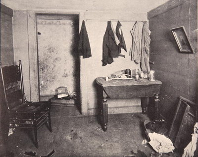 Fine Art Print of New York Tenement housing, 1890s by American Photographer