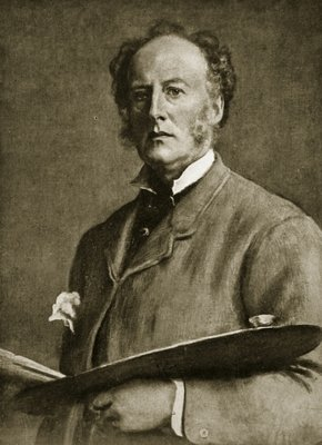 Fine Art Print of John Everett Millais, 1829-96 by Sir John Everett Millais
