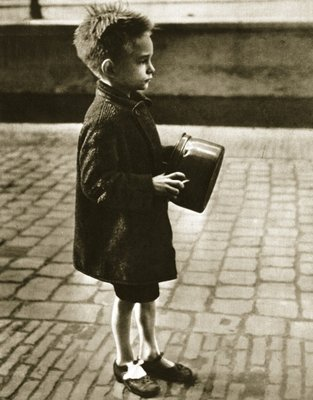 Fine Art Print of The hopeful child by Dutch Photographer