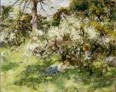 Sloe Blossom Poster Art Print by William Stewart MacGeorge