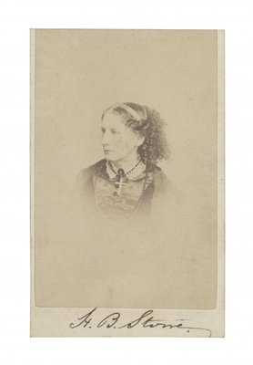 Fine Art Print of Harriet Beecher Stowe by R. S. DeLamater