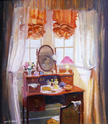 Fine Art Print of The Dressing Table by William Ireland