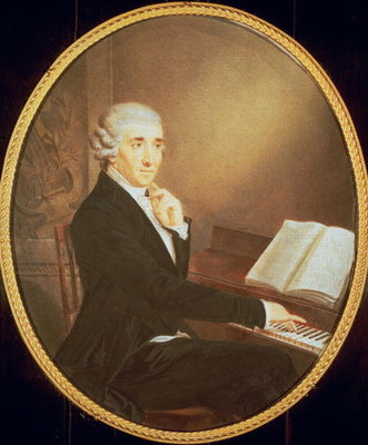 Fine Art Print of Joseph Haydn c.1795 by Johann Zitterer