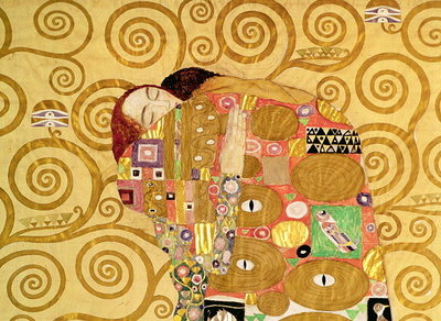 Fine Art Print of Fulfilment by Gustav Klimt
