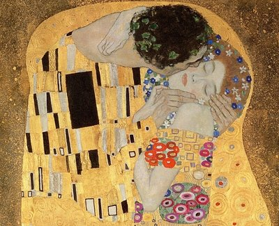 Fine Art Print of The Kiss, 1907-08 by Gustav Klimt