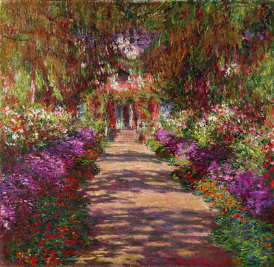 A Pathway in Monet's Garden, Giverny, 1902 by Claude Monet - print