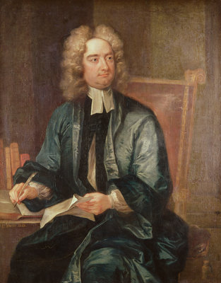 Portrait of Jonathan Swift Poster Art Print by Charles Jervas