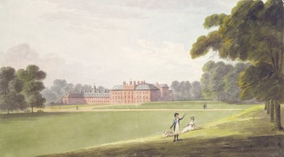 Fine Art Print of Kensington Palace by John Buckler