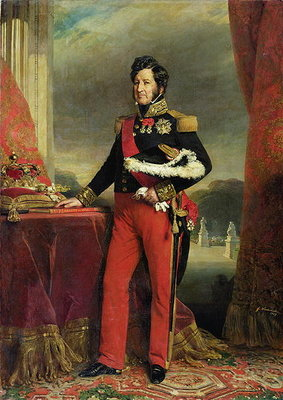 Louis-Philippe I (1773-1850), King of France (oil on canvas) by Franz Xaver Winterhalter - print