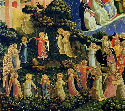 Fine Art Print of The Last Judgement by Fra Angelico