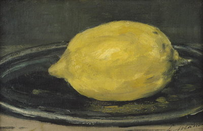 The Lemon, 1880 Poster Art Print by Edouard Manet