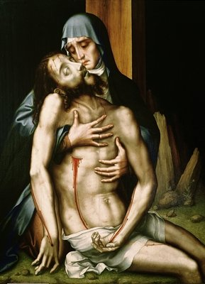 Fine Art Print of Pieta by Luis de Morales