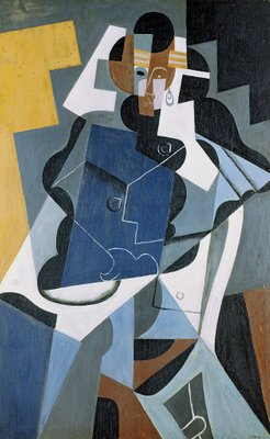 Fine Art Print of Figure of a Woman, 1917 by Juan Gris