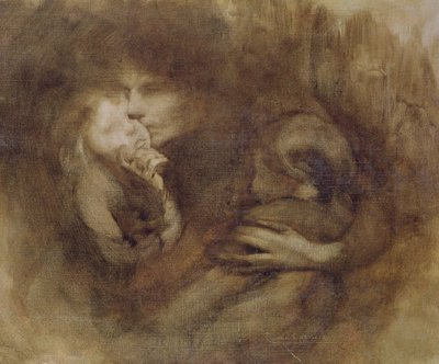 Fine Art Print of Maternity by Eugene Carriere