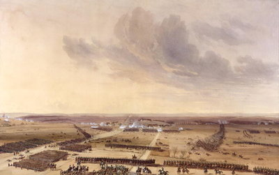 Fine Art Print of The Battle of Montmirail on the 11th February 1814 by Jean Antoine Simeon Fort
