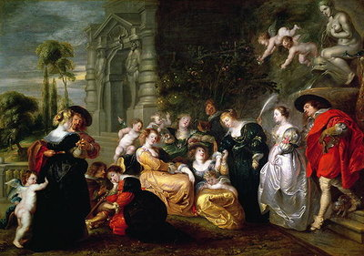 The Garden of Love Poster Art Print by Peter Paul Rubens