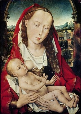 Fine Art Print of Virgin and Child, c.1467-70 by Hans Memling