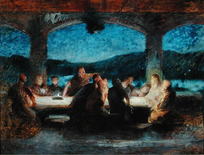 Fine Art Print of The Last Supper by Jean Alexandre Joseph Falguiere
